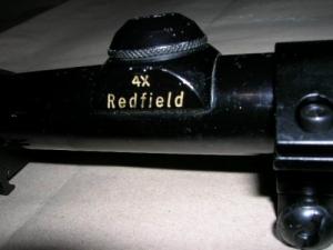 Redfield 4x-es céltávcső