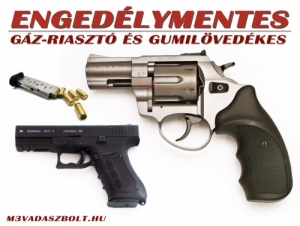 Önvédelmi Gumilövedékes pisztoly
