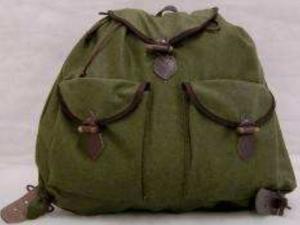 Vadász hátizsák Lóden-bőr