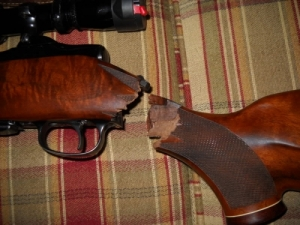Fegyverjavítás, barnítás
