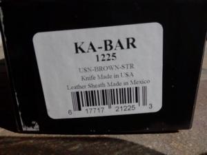 Eredeti KA-BAR 1225 kés eladó.