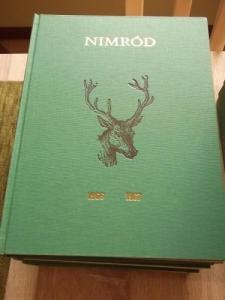 Nimród vadászújság kötve 1966-1989-ig