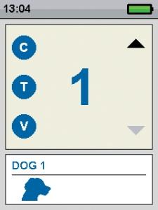 Nyakörv, TEK 1.0 GSP kutya lokalizációs rendszer, (Trekking és képzési rendszer)