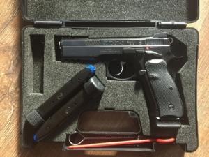 CZ75 SP01 Shadow maroklőfegyver