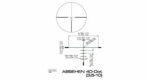Céltávcső Kahles Kxi 3,5-10x50 L 4-Dot, világító pontos