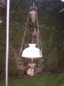Régi vadász konzolos luszterlámpa