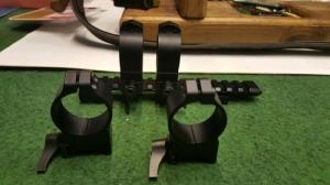 Többféle acélszerelék (CZ weaver sin,Marlin,Remington 700, oldhatós weaver stb.)