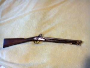 Antik kovaköves angol puska