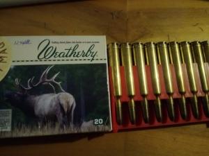 300 Weatherby lőszerek