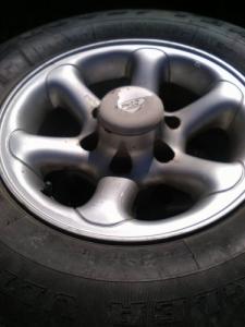 Nissan terrano alufelni