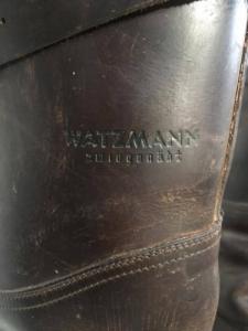 Watzmann bőrcsizma