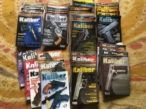Kaliber magazin korábbi számai