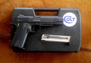 Colt 1911 Rail Gun .22LR Govt Model