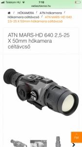 ATN Mars HD 2,5-25x50 hokamera