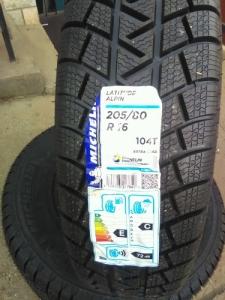 Michelin Alpin Latitude 205/80 R16 téligumi garnitúra