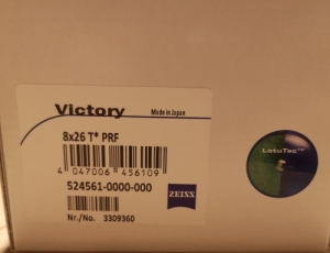 Zeiss Victory 8x26 PRF