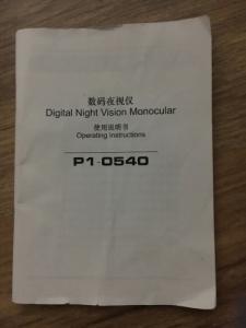 Digital Night Vision Monocular