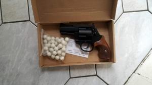 Revenge 14M gáz és riasztó gumilővedékes 15mm revolver
