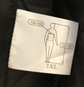 Jól láthatósági bélelt kabát