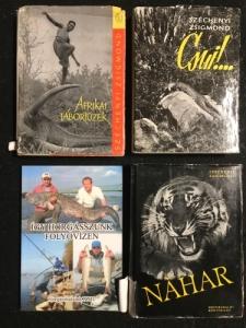 Vadász- horgász könyvek