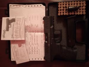 Gáz riasztó pisztoly Walther PPQ M2