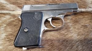 Brno Zbrojovka 6,35 Brown.  Maroklőfegyver