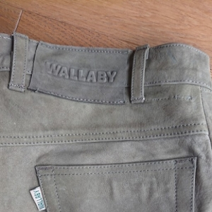 Wallaby bőrnadrág