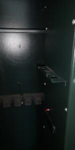 Fegyvertartó páncélszekrény 5 puskához