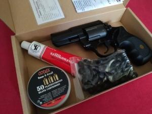 Gumis Pitbull gumilövedéskes (riasztó) pisztoly