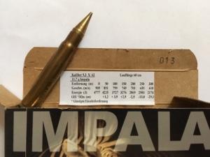 IMPALA lőszerek 6,5x68 - 9,3x62