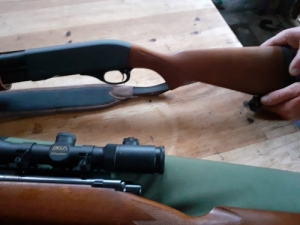 Marlin 30.06 Remington 870