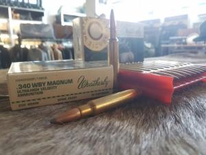 AKCIÓ! Weatherby .340 WBY Magnum Spire Point 16,2g golyós lőszer