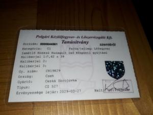 CZ 527  7.62X39  Esetleg csere is.