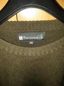 Percussion vadász pulóver