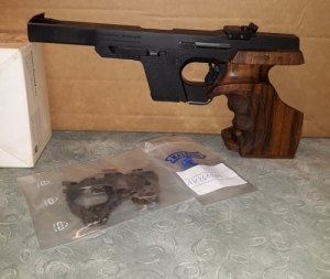 Walther GSP 22 LR sportpisztoly