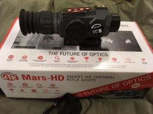 ATN MARS-HD 384 1,25-5 X 19mm hőkamera céltávcső