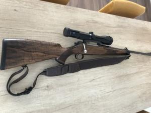 Mauser M03 Golyós Puska 8*57JS + Zeiss Victory 2,5*10x50