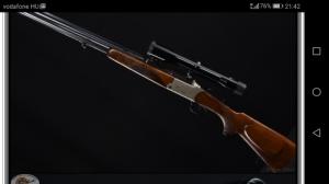 Blaser ES 67  6,5x57 vegyescsövű vadászfegyver