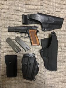 FÉG P9R 9mm Luger szett
