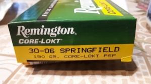 Keresek! Remington Core-Lokt 30-06