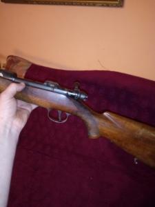Hatástalanított golyós puska