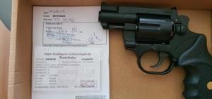 """Új Keserű  Pitbull 2"""" ÚJABB MODEL DAO sütésű gumilövedékes gáz riasztó pisztoly"""