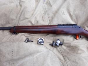 308 Win. kaliberű precíz puska + lőszer