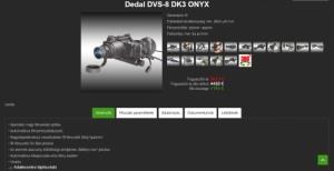 Dedal DVS-8 gen. 3 ONIX+ éjjellátó