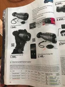 35mm-es kereső hőkameraProdigy Pro