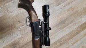 ZH 304 vegyecsövű puska távcsővel