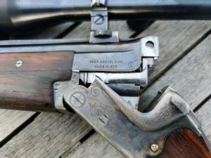 Merkel Suhl 7x65R // 16/70 bock vegyescsövű, Kahles 6x42 céltávcsővel
