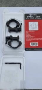 Oldható acél szerelék / gyűrű  30 mm átmérő