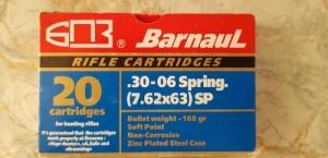 Barnaul 30.06 lőszer
