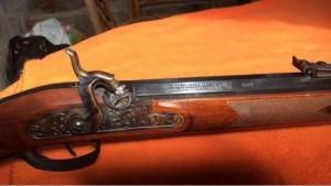 Feketelőporos Hawken .58-as kaliberű vadászpuska